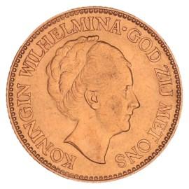 Gouden 10 Gulden Wilhelmina 1932 Pr+