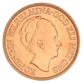 Gouden 10 Gulden Wilhelmina 1933 Pr+