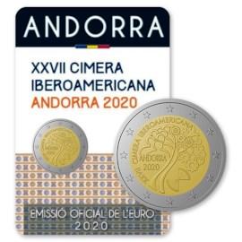 "Andorra 2 Euro ""Ibero-Amerikaanse Top"" 2020"