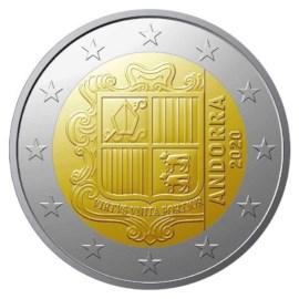 Andorra 2 Euro 2020 UNC