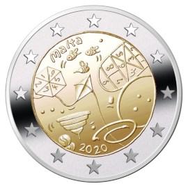 """Malta 2 Euro """"Spelletjes"""" 2020"""