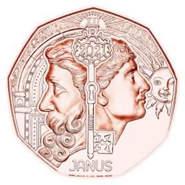 Autriche 5 euros « Janus » 2021