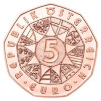 """Austria 5 Euro """"Janus"""" 2021"""