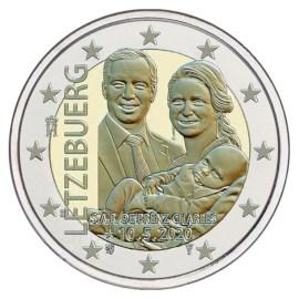 "Luxemburg 2 Euro ""Prins Charles"" 2020 (reliëf-versie)"