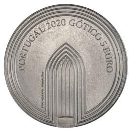 Portugal 5 euros « Gothique » 2020