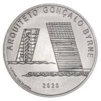 """Portugal 7,5 Euro """"Gonçalo Byrne"""" 2020"""