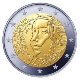 """Frankrijk 2 Euro """"Fédération"""" 2015"""