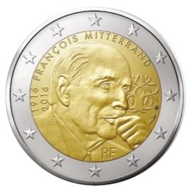 """Frankrijk 2 Euro """"Mitterrand"""" 2016"""