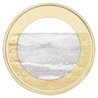 """Finland 5 Euro """"Pallastunturi"""" 2018"""