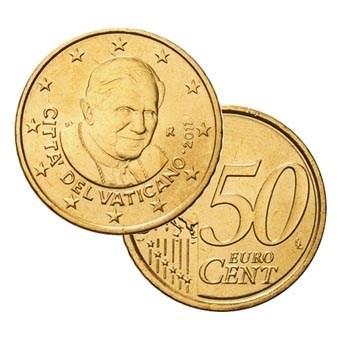 Vaticaan 50 Cent 2011 UNC