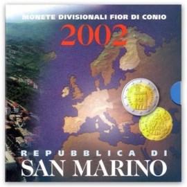 San Marino BU Set 2002