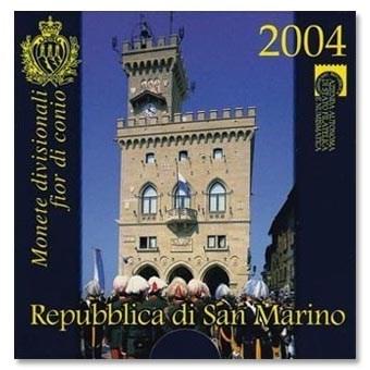 San Marino BU Set 2004 + 5 Euro