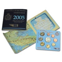 San Marino BU Set 2005 + 5 Euro