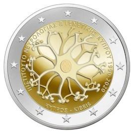 "Cyprus 2 Euro ""Neurologie"" 2020"