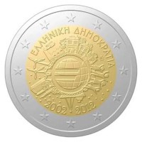 Griekenland Proof Set 2012 + 2 Euro