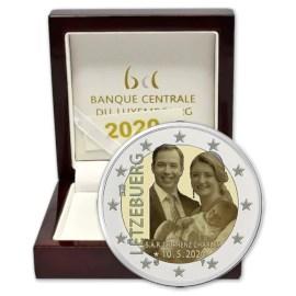 "Luxemburg 2 Euro ""Prins Charles"" 2020 Proof"