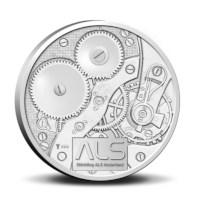 Stichting ALS Nederland penning in coincard