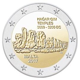 """Malta 2 Euro """"Hagar Qim"""" 2017"""