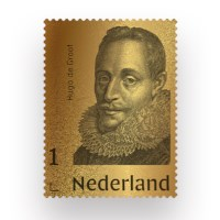 Gold Stamp Hugo Grotius