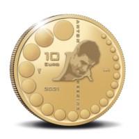 Anton Geesink 10 Euro Coin 2021 Gold Proof