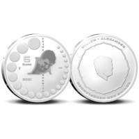 Anton Geesink 5 Euro Coin 2021 Silver Proof