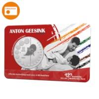Anton Geesink 5 Euro Coin 2021 BU-quality in Coincard