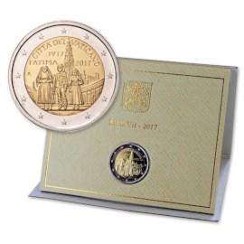 "Vaticaan 2 Euro ""Fatima"" 2017"