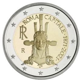 """Italië 2 Euro """"Rome""""  2021"""