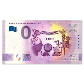 "0 Euro Biljet ""Geboorte"" 2021"