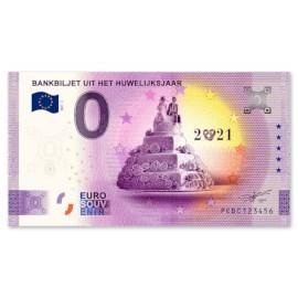 "0 Euro Biljet ""Huwelijk"" 2021"