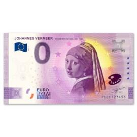 """0 Euro Biljet """"Meisje met de Parel"""""""