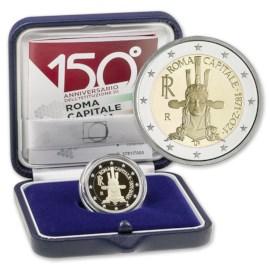 "Italië 2 Euro ""Rome"" 2021 Proof"