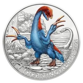 "Oostenrijk 3 Euro ""Therizinosaurus"" 2021"