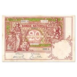 20 Frank 1910-1920 ZFr
