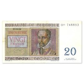 20 Francs 1950-1956 UNC