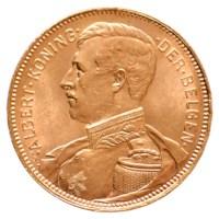 Frank Goud Albert I 1914 Pr- (Rood Goud)