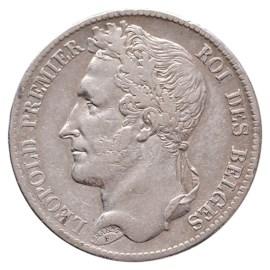 5 Frank 1834 Leopold I ZFr