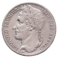 5 Frank 1835 Leopold I ZFr