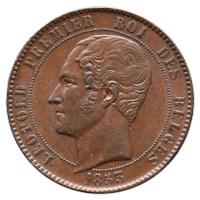 Module 10 Centiem Leopold I 1853 ZFr+