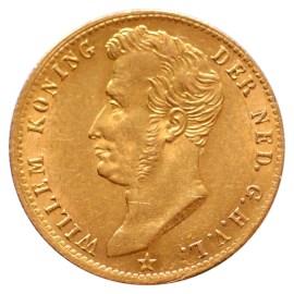 Gouden 5 Gulden Willem I 1827 U Pr-