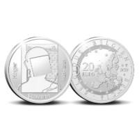 Pièce de 20 euros Belgique 2021 « 100 ans Roger Raveel » Belle-épreuve en Argent