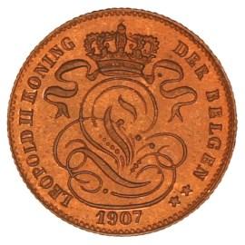 1 Centiem 1869-1907 FR - Leopold II Pr