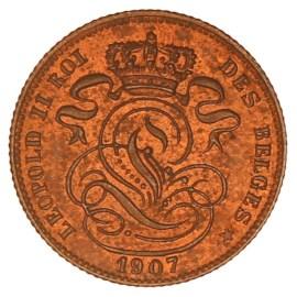 1 Centiem 1869-1907 NL - Leopold II Pr