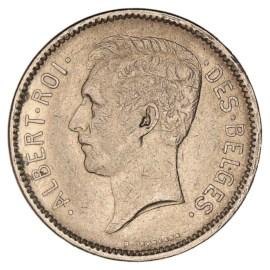 5 Frank 1930-1934 FR - Albert I ZFr