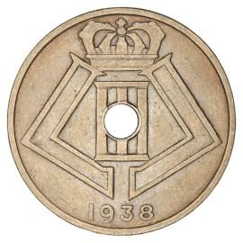 25 Centiem 1938-1939 NL - Leopold III ZFr