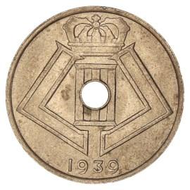 25 Centiem 1938-1939 FR - Leopold III ZFr