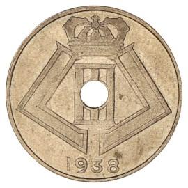 10 Centiem 1938-1939 FR - Leopold III ZFr
