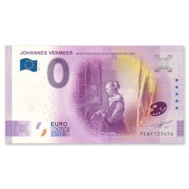 """0 Euro Biljet """"Brieflezende Vrouw"""""""