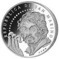 """San Marino BU Set 2010 + 5 Euro """"Caravaggio"""""""