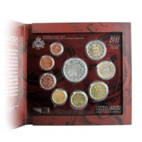 San Marino BU Set 2011 + 5 Euro